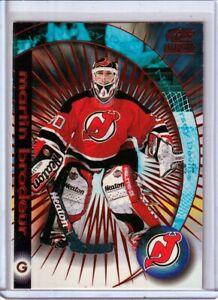 1998-99 Paramount Ice Galaxy #6 Martin Brodeur /140 - New Jersey Devils