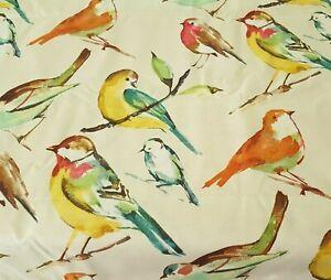 """Birdwatcher BTY Richloom 55% Linen / 45% Rayon 54"""" Wide Bird"""