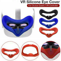 Soft Silicone Eye Cover Anti Sweat Eye Pad For Oculus Quest 2 Glasses Washable s
