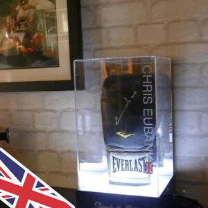 Illuminated Boxing Glove Acrylic Display CASE   UK Manufacturer