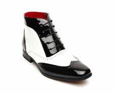 Cowboy Boots Lace Up Regular Shoes for Men
