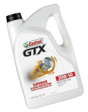 Castrol 03095 GTX 20W-50 Motor Oil 5 Quart