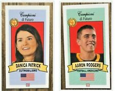2003 Aaron Rodgers + Danica Patrick SET Mint Rookie Packers
