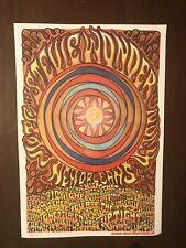 Original Stevie Wonder 2008 Concert Promotional Poster