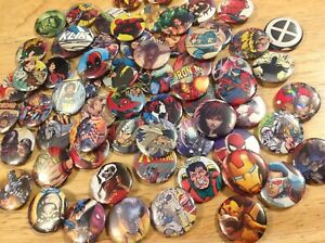 Marvel 20 X 25mm Button Badges