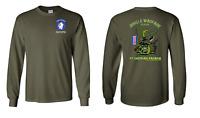 193rd Infantry Brigade Jungle Master LS Cotton Shirt - 10095