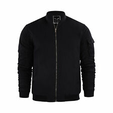 Chaqueta Hombre Brave Soul Marks MA1 Bomber chaqueta con rouged Mangas