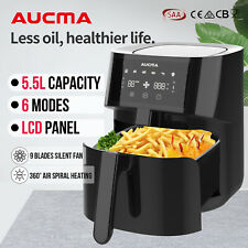 AUCMA 5.5L Air Fryer Oven Cooker LCD Digital 1500W Multifunctional Healthy Fryer