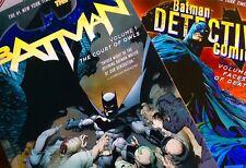 Batman Vol 1: The Court of Owls + Batman Detective Comics Vol 1: Faces of Death