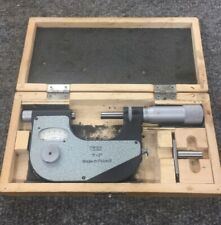 "VIN 1-2"" Micrometer Tooling Inspection Measurement Micrometers  Made in Poland"