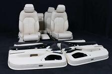 org Audi A8 4H Innenausstattung Lederausstattung Massage Leder Sitze BEIGE seats