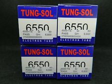 6550  NEW TUNG-SOL Matched Quad 4 Available   Audio Research Sub KT88 KT90