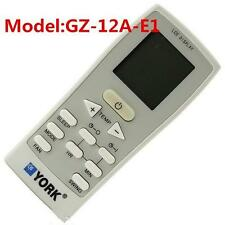 New YORK GZ-12A-E1 Split And Portable Air Conditioner Remote Control