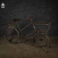 Victorian Tradesman's Bicycle in Original Condition