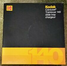 Kodak Carousel Transvue 140 Slide Tray in Original Box (Gray)