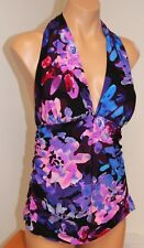 NWT Magic Suit by Miraclesuit Swimsuit Tankini Top sz 14 Halter