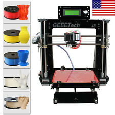 Geeetech Acrylic Reprap Prusa I3 All Metal Parts Pro B 3D Printer free shipping