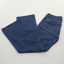Levi's 545 Low Boot Cut Womens Jeans Pocket Flaps Medium Wash Size 10 Medium