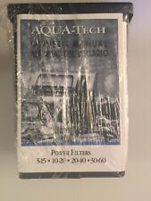 Aqua Tech 5-15 Aquarium Power Filter to Clean and Maintain Tanks NEW