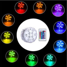 LED RGB Battery Operated Underwater Light Fountain Light Submersible Lights