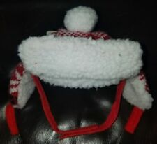 Time for Joy Christmas Snow Day Fair Isle Cat Hat
