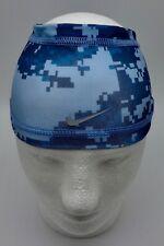 Nike Youth Pro Combat Skull Wrap Blue/Grey Youth
