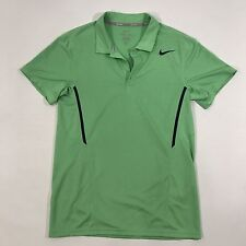 Nike Tennis DRI-FIT Women's Polo Shirt Green Blue, Small XL Excellent Condition