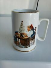 Norman Rockwell Coffe Cup