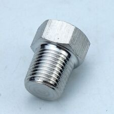 5pcs stainless steel 304 Pipe Fitting Plug 1/4