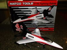Matco Tools F-16 Fighting Falcon Airplane Bank Die-Cast 052617DBT
