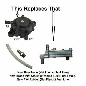 Gas Fuel Pump for Sears Suburban 10 Super 12 St/10 St12 Custom Tecumseh Motor