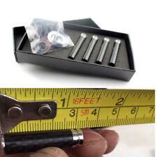 Car Door Lock Pins Carbon Open Handles Real Carbon Fiber Copper 4PCS Ubiversal