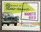 MG Magnette Mark IV Brochure H&E 61105 23/38(38241) 8/60
