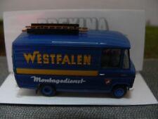 1/87 Brekina MB L 406 D Westfalen Montagedienst Kastenwagen 36810