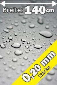 Schutz Tischdecke transparent durchsichtig Meterware 0,20 mm stark