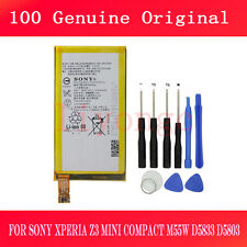 100% Original Battery For Sony Xperia Z3 Compact mini D5803 D5833  LIS1561ERPC