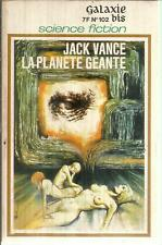 JACK VANCE LA PLANETE GEANTE  GALAXIE/BIS