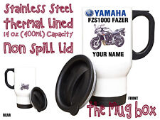 Yamaha FZS1000 Fazer (00-05 Personalised Thermal Steel Mug. Perfect Gift!(MB136)