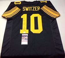 a26817f9f PITTSBURGH STEELERS RYAN SWITZER SIGNED CUSTOM COLOR RUSH JERSEY JSA COA!