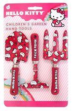 Hello Kitty Para Niños Jardín Herramienta De Mano Set (metal) CHILDS tenedor paleta Rastrillo