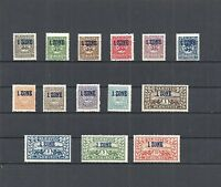 Schleswig, 1920 Michelnummer: 15 - 28 **, postfrisch **, Katalogwert € 400,00