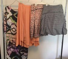 J. Peterman Women's 8 Lot Of 4 Dress Skirt