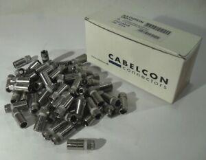 60x KATHREIN EMK12 F-Kompressions-Stecker 21210018 Koaxkabel Koaxialkabel