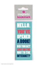 Brainbox Candy funny magnetic bookmark small gift present birthday internet joke