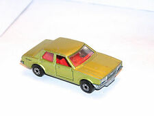 Vintage Matchbox Superfast #55 Ford Cortina **YELLOW LIGHT SPECIAL**