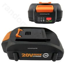 WORX WA3575 Battery 20V 2.0Ah 36W Lithium Ion For Trimmer Hedge Trimmer Blowers