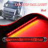 Red LED 10-30V Stop Tail Light Taillight Ultra-Slim Trailer Truck Blinker Lights