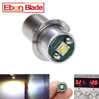1Pcs LED CREE Flashlights Bulb P13.5S 3W Replacement White for DC5-24V PR2 PR3