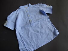 AO American Outfitters Tolle hellblau weiß gestreifte Tunika Bluse Gr.6/116