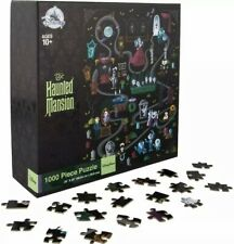 New ListingDisney Parks The Haunted Mansion Ride & Hitchhiking Ghosts Puzzle 1000 Pieces